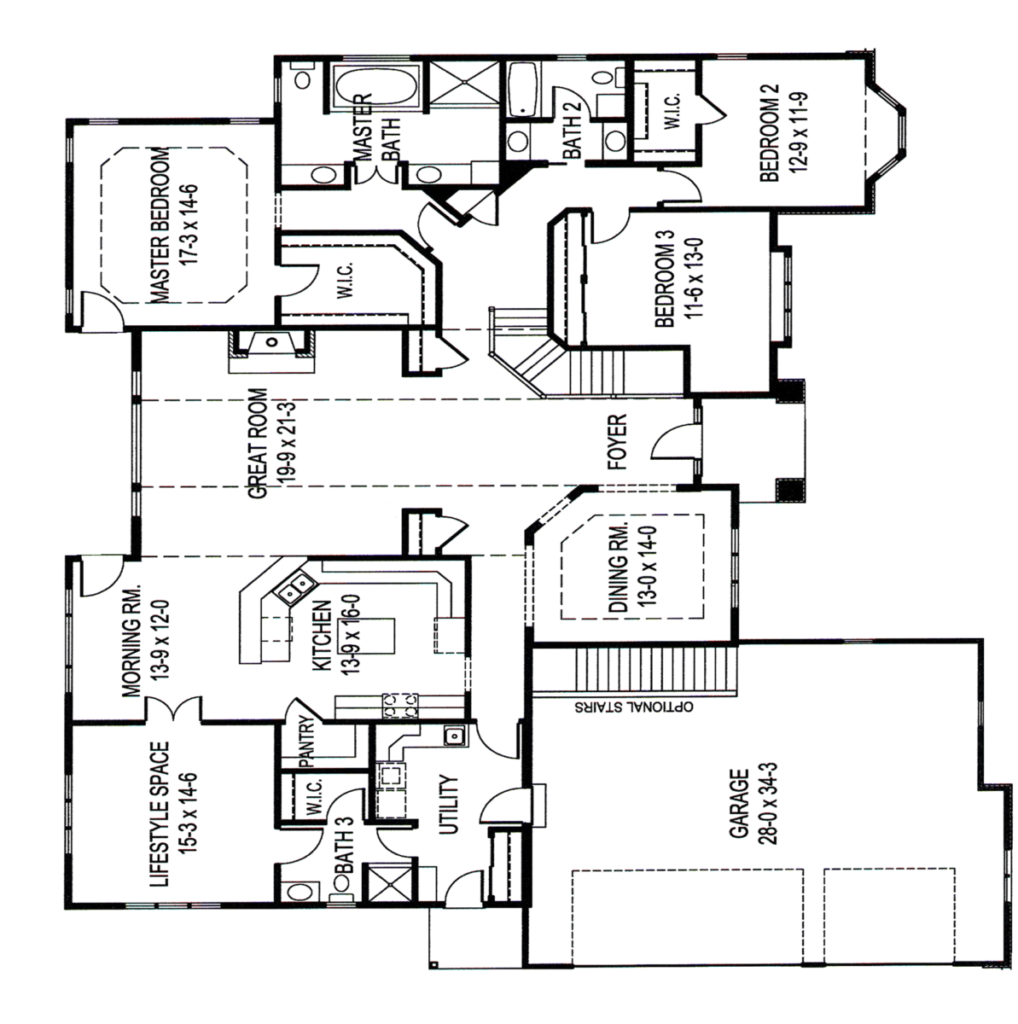 Floor plan: What is the Perfect Floor Plan for Me? | David ... on feng shui home floor plan, my home plan, southern comfort house plan,